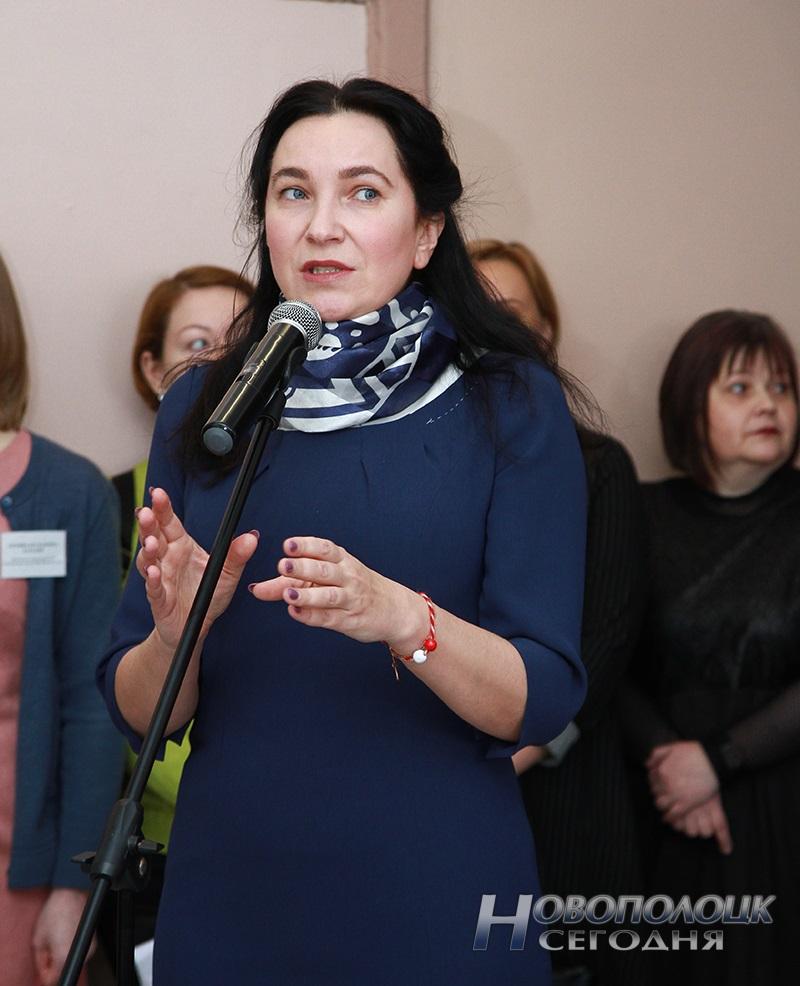 koordinator proektov Predstavitel'stva ES vBelarusi Natal'ja Stasevich