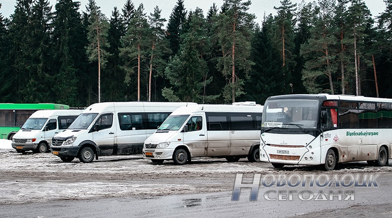 marshrutki Novopolock-Minsk