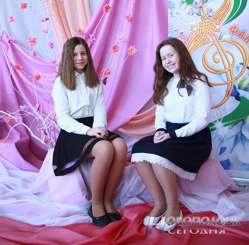 Новополоцкие надежды Любовь Спиркович и Доната Медведева