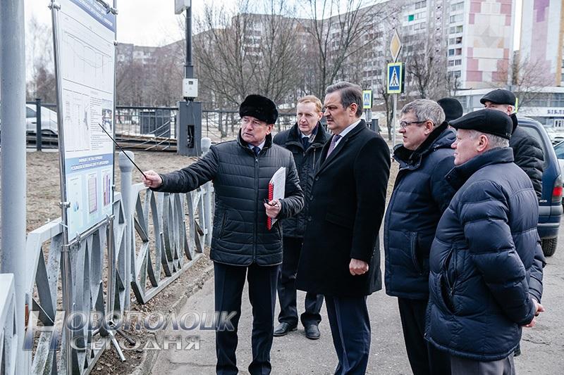 визит Калинина в Новополоцк