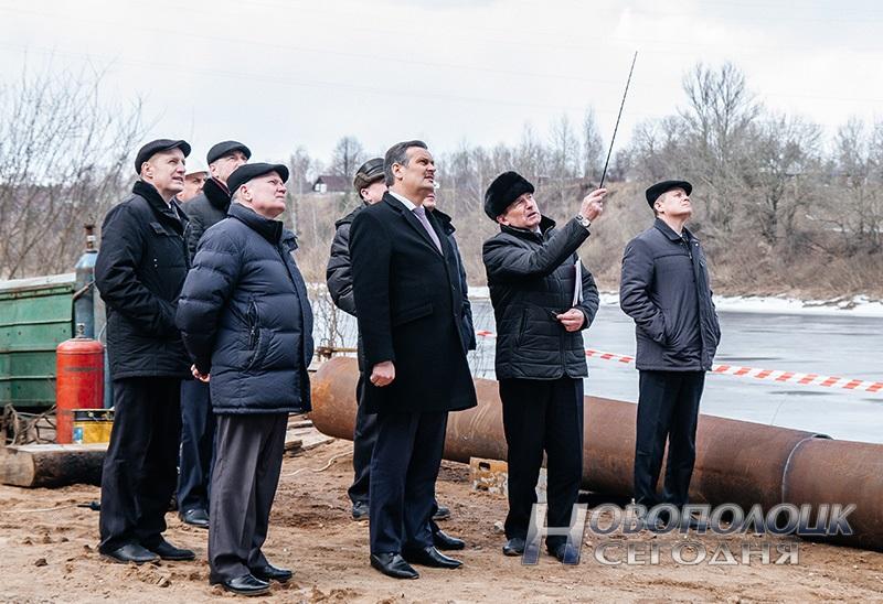 vice-prem'er Anatolij Kalinin v Novopolocke (4)