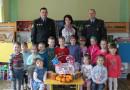Сотрудники Новополоцкого отдела охраны накануне Пасхи посетили 8-й детский сад