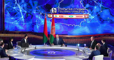 Встреча Президента Беларуси с представителями крупнейших государственных СМИ
