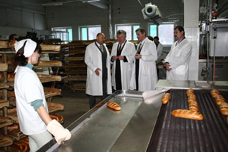 открытие хлебозавода