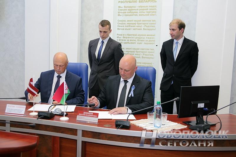 подписание договоров побратимских связей (1)