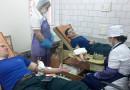 Новополоцкие спасатели присоединились к донорской акции