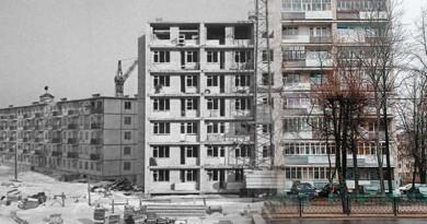 Это было недавно…Фотопроект к 60-летию Новополоцка. Первая девятиэтажка