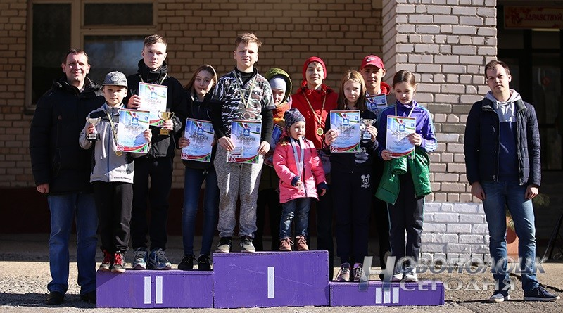 sportivnoe orientirovanie na prizy gazety Novopolock segodnja