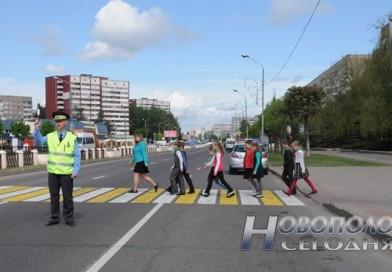 С 25 мая по 5 июня сотрудники ГАИ проведут мероприятия для привлечения внимания к безопасности детей на дороге