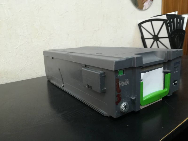 кассета бакномата