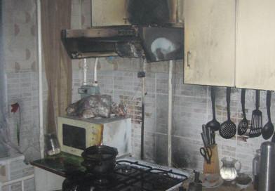 Повреждено имущество, бытовая техника, закопчены стены. Ночью в Новополоцке произошел пожар