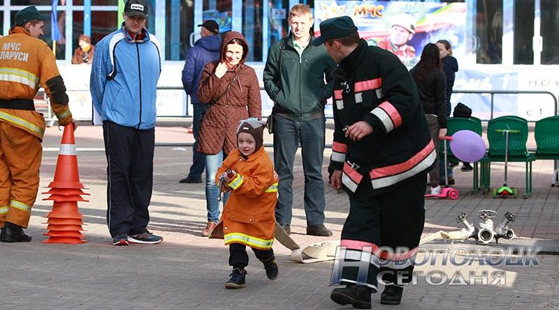 пожарный кроссфит для детей
