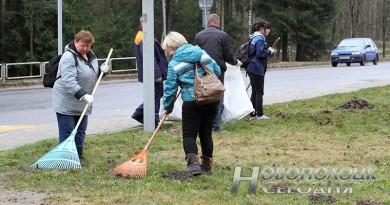 26 мая в Новополоцке и горпоселке Боровуха пройдет городской субботник
