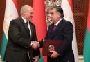Визит Президента Беларуси в Таджикистан