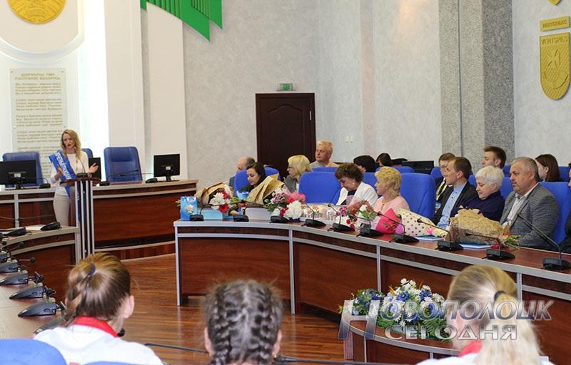 Krivko i Sahonenko v Novopolockom gorispolkome (18)