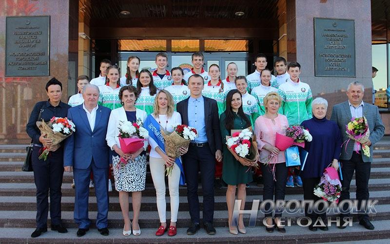 Krivko i Sahonenko v Novopolockom gorispolkome (21)