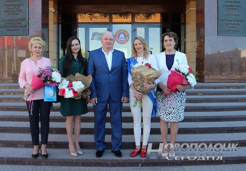 Krivko i Sahonenko v Novopolockom gorispolkome (23)