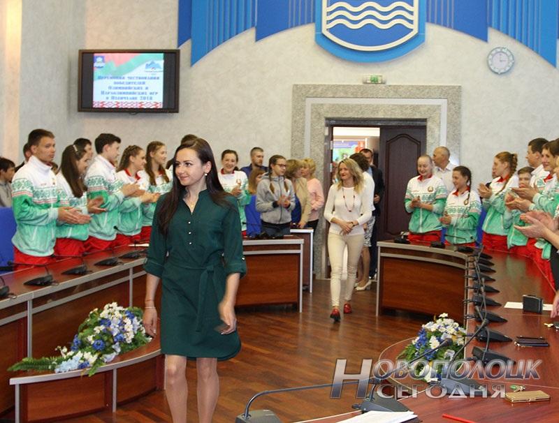 Krivko i Sahonenko v Novopolockom gorispolkome (3)