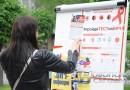 Новополочане стали участниками акции, приуроченной к Международному дню памяти людей, умерших от СПИДа