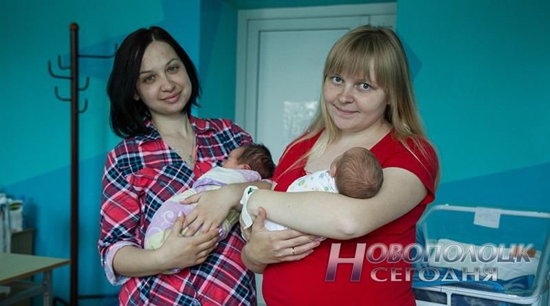 роженицы молодые мамы с новорожденными
