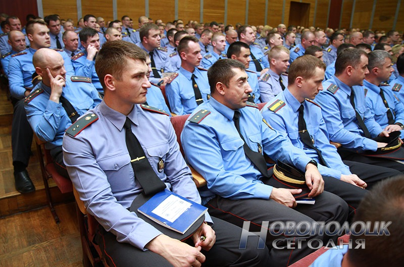 vstrecha milicii Polockogo garnizona s Nikolaem Shhekinym (6) милиция; белорусская милиция; милиционер