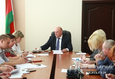 Председатель Новополоцкого горисполкома Дмитрий Демидов провел прямую телефонную линию с жителями города