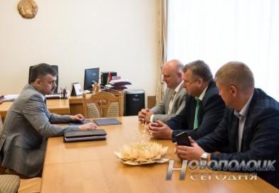 В минувшую субботу Новополоцк посетил министр спорта и туризма Республики Беларусь Сергей Ковальчук