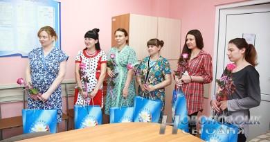 В День защиты детей в новополоцком роддоме на свет появились шестеро малышей