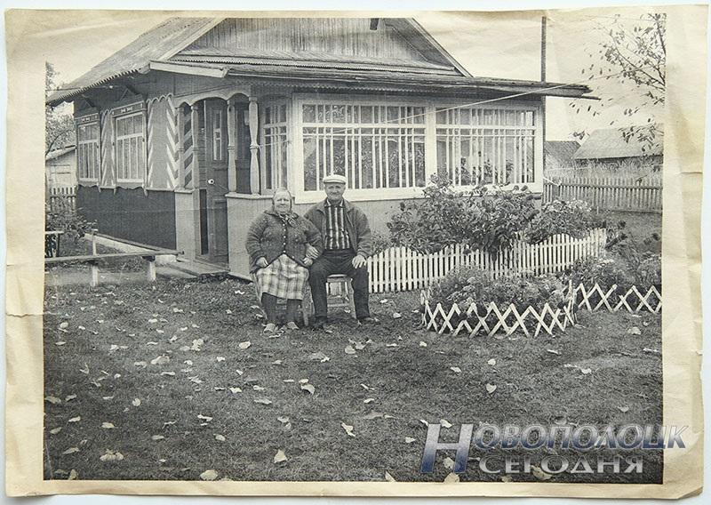 В этом доме Петр Викторович и Валентина Антоновна ХАМЁНКИ вырастили шестерых ребятишек