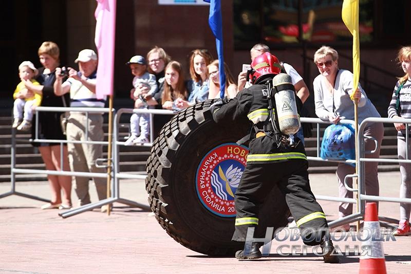 соревнования по пожарному кроссфиту в Новополоцке