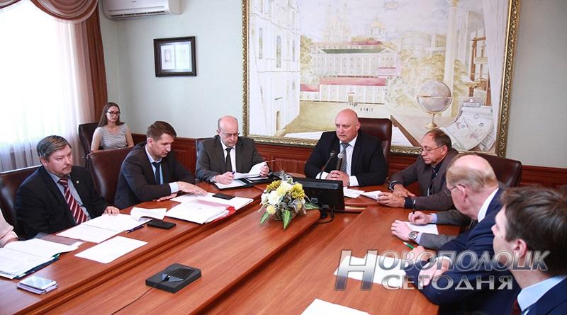 заседание по нефтехимическому кластеру в ПГУ