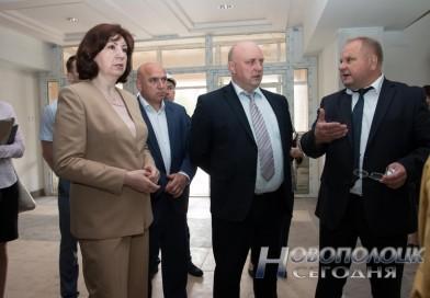 В минувшую субботу Новополоцк посетила с рабочим визитом Глава Администрации Президента Беларуси Наталья Кочанова