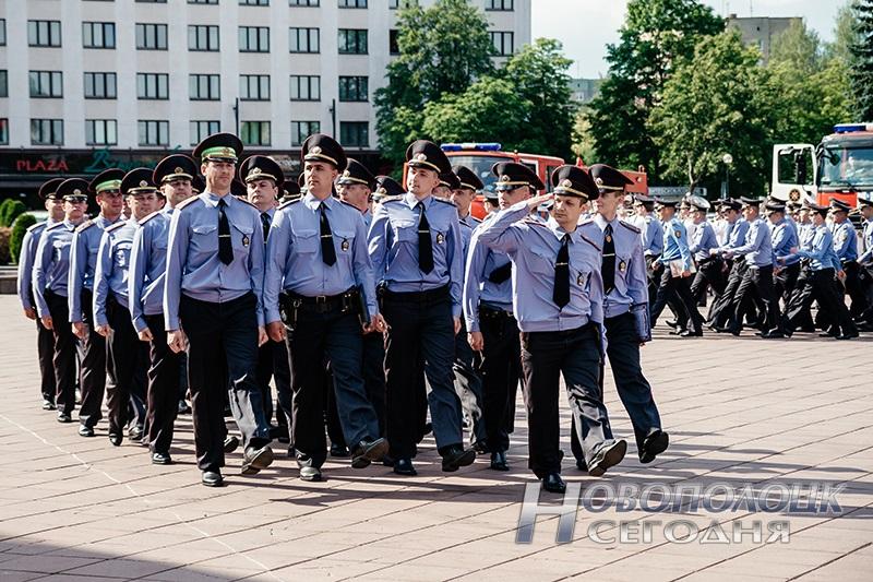 milicejskij razvod na ploshhadi Novopolock (16)