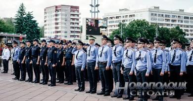 Сотрудников милиции Новополоцка в рождественские и новогодние праздники переведут на усиленный вариант несения службы