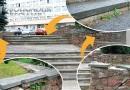 Сапожник без сапог? Журналисты «НС» обратили внимание на состояние лестницы, ведущей к офисному зданию по Молодежной, 102а