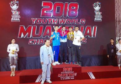 Новополочанин Данила Квач завоевал серебряную медаль на первенстве мира по муай тай