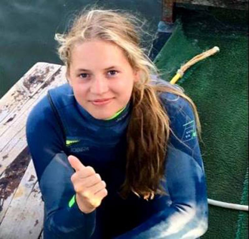 Трижды чемпионка Европы 2018 до 14 лет Мария Бельская. Фото Аркадия Генова