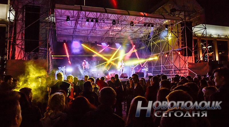 rok-koncert Novopolock – gorod bez narkotikov
