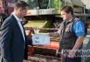 Водитель ОАО «Кушлики» Александр Коростик намолотил на своем комбайне МЕГА-204 свыше тысячи тонн зерновых