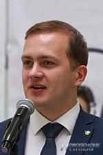 Dmitrij Voronjuk, pervyj sekretar' CK OO «BRSM»