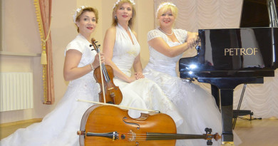 Новополоцкий коллектив трио «Gratia» приглашает на концерт
