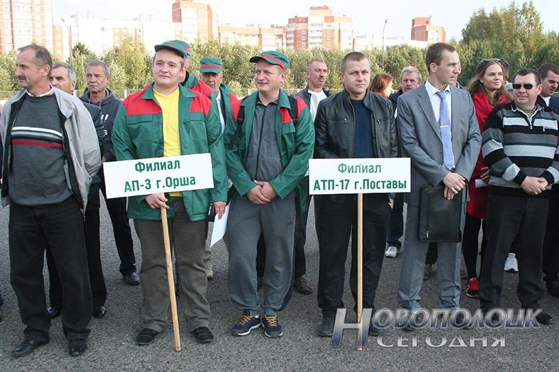 sorevnovanija avtotransportnikov v Novopolocke (1)