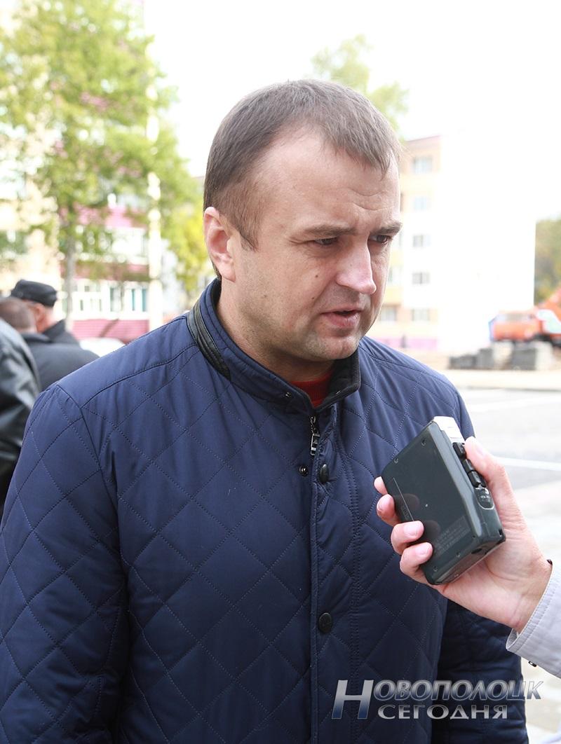Aleksandr Muljarenok direktor Novopolockogo UKSa