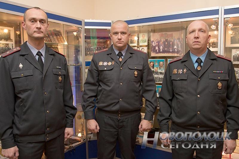 Алексей Полозов (в центре) и его заместители Юрий Зорин и Дмитрий Сасин