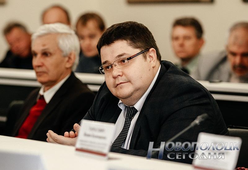 Заместитель главы администрации СЭЗ «Витебск» Юрий Пчелко