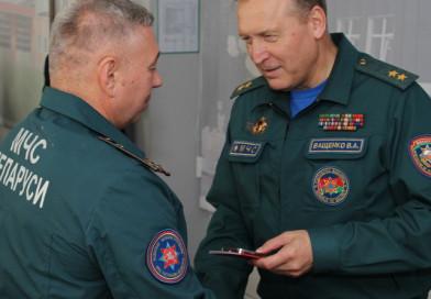 Министр по ЧС с рабочим визитом посетил Новополоцк
