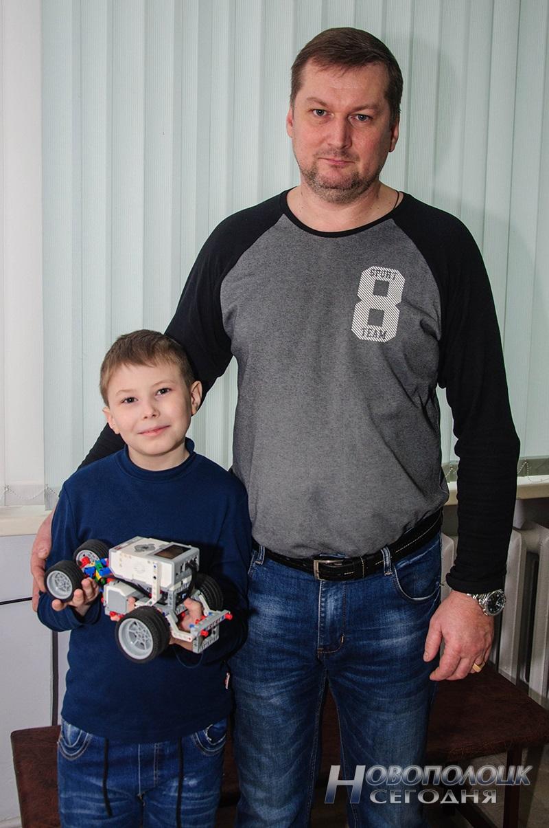 Олег Чайкин с сыном Павлом