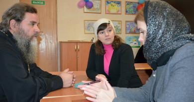 В новополоцком приходе состоялся диалог о подготовке к церковному празднику