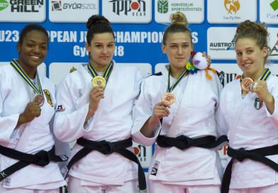 Воспитанница Новополоцкого УОРа Дарья Концевая завоевала бронзовую награду на первенстве Европы по дзюдо