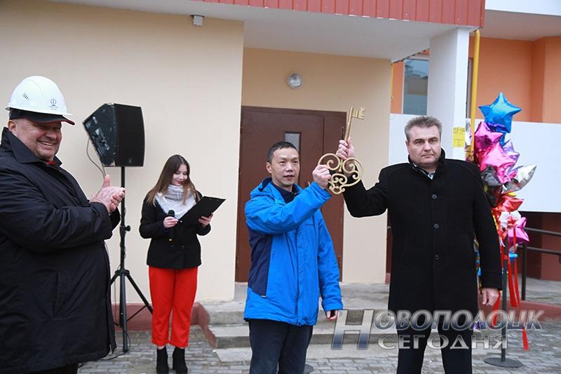 Господин Шень Ян и Михаил Гришкевич